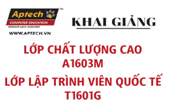 Hanoi- Aptech chào đón các tân lập trình viên nhập trường