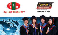 Hanoi- Aptech & ĐH Thành Tây triển khai tuyển sinh hệ liên kết quốc tế CNTT