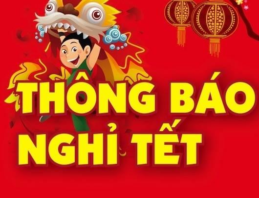 Read more about the article THÔNG BÁO NGHỈ TẾT ÂM LỊCH 2017