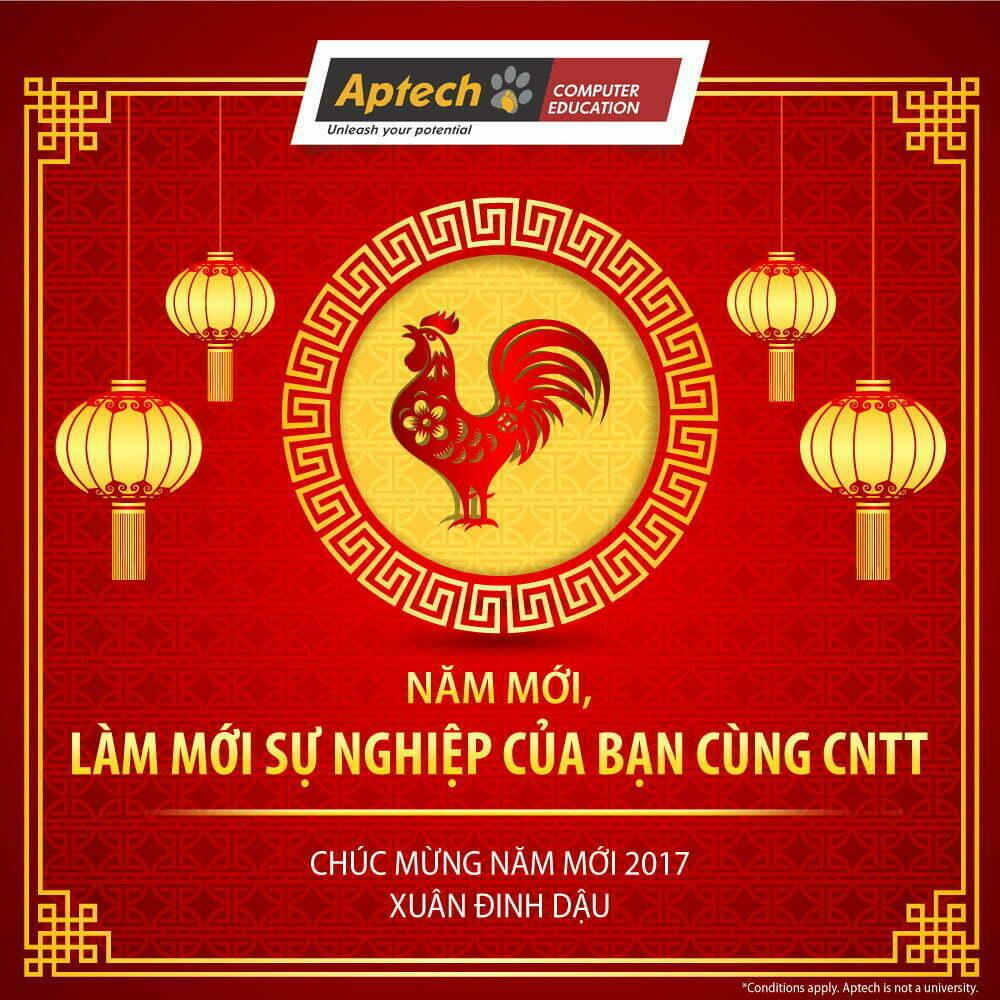 Thư chúc Tết của Trường đào tạo lập trình viên Quốc tế Hanoi-Aptech