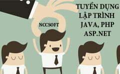 NCCSOFT TUYỂN JAVA, PHP, ASP.NET FRESHERS