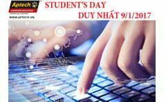 """Thử tài đoán xem """"Students'Day"""" Hanoi- Aptech có gì hot!!!"""