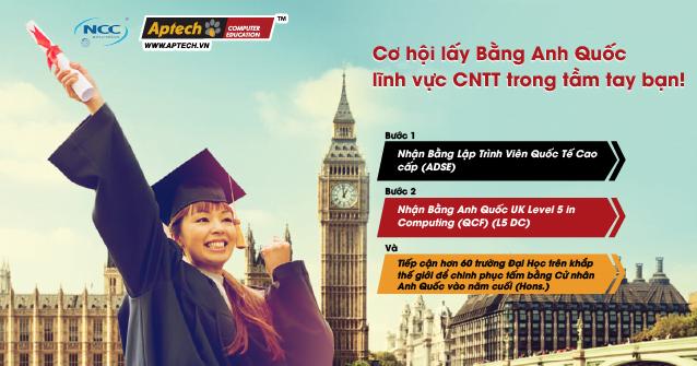 Read more about the article Cơ hội lấy Bằng Anh Quốc lĩnh vực CNTT trong tầm tay bạn!