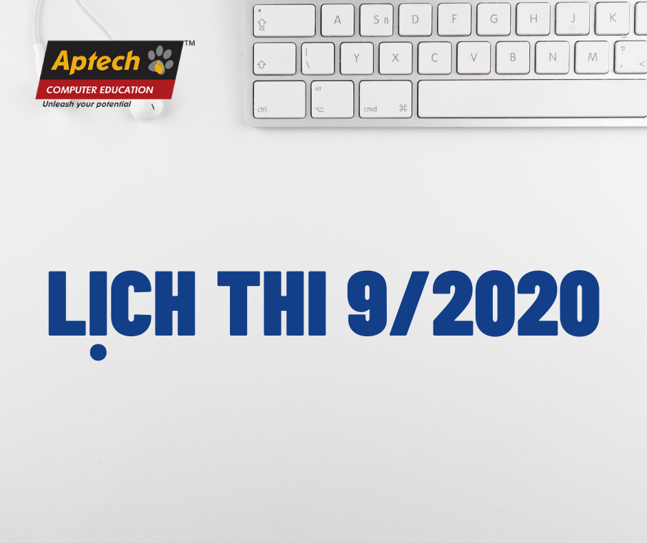 Read more about the article HANOI – APTECH: LỊCH THI THÁNG 9/2020