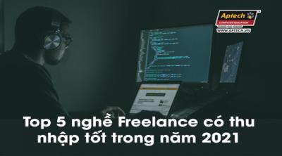 Read more about the article Top 5 nghề Freelance có thu nhập tốt trong năm 2021