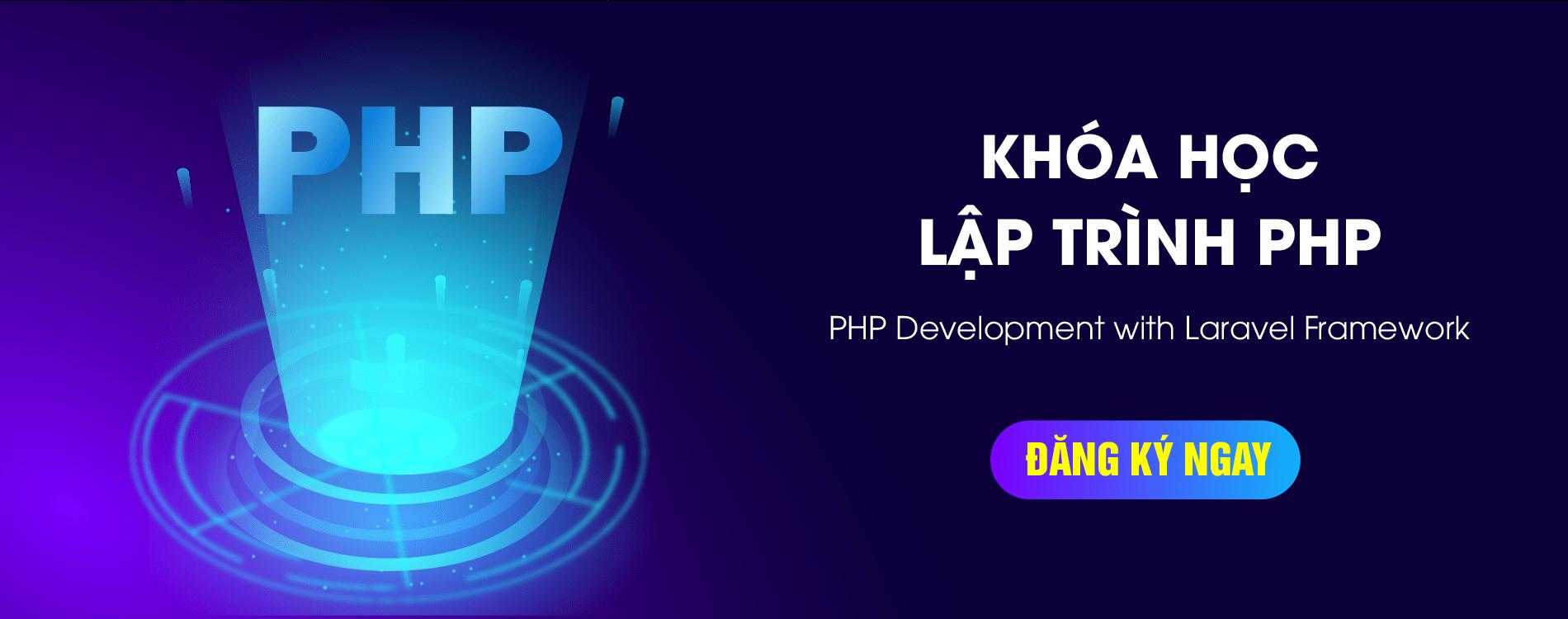 Lập trình php Aptech