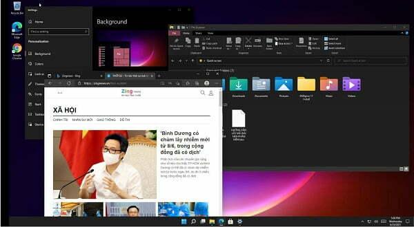 Read more about the article Giao diện Windows 11 vừa ra mắt có điểm gì mới?