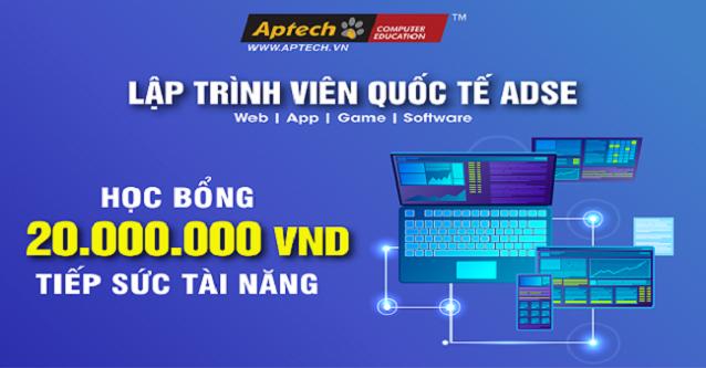 """Read more about the article Học bổng 20.000.000đ """"Tiếp sức tài năng – Vượt qua Covid"""" từ Aptech"""