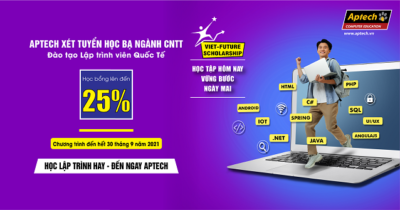 Read more about the article HANOI – APTECH THÔNG BÁO: LỊCH TUYỂN SINH THÁNG 9/2021